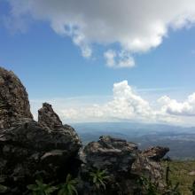 Vista da Serra da Piedade
